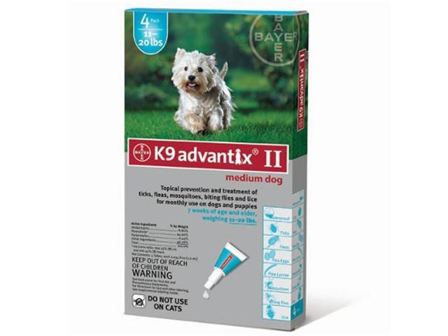 Advantix For Dogs 10-22 Lbs. 4 Month Supply