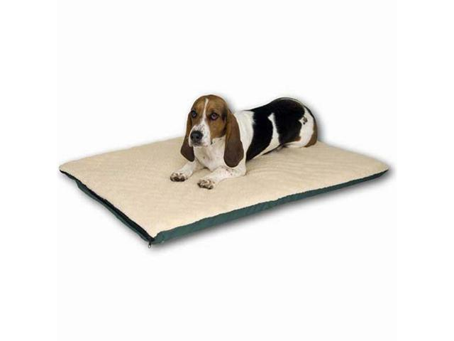 K&H Pet Products Ortho Thermo Bed Medium White and Green 17