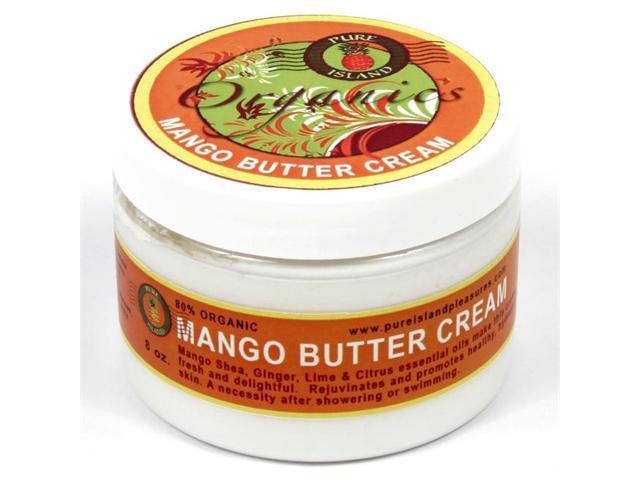 Pure Island Organic Mango Body Butter Cream 6 oz.