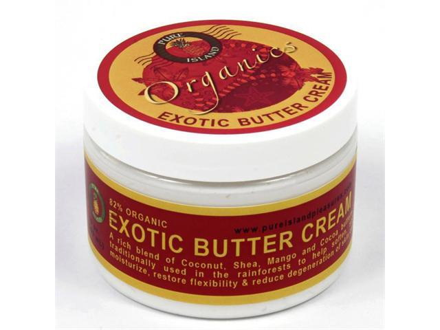 Pure Island Exotic Butter Body Cream 6 oz. (Pack of 3)