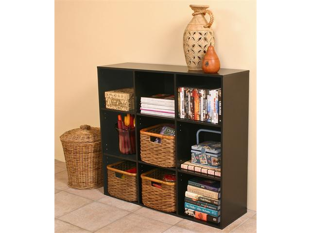 Venture Horizon Project Center Bookcase Black