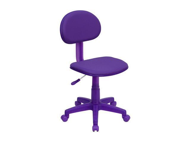 Flash Furniture Purple Fabric Ergonomic Task Chair [BT-698-PURPLE-GG]