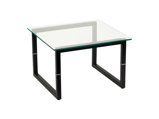 Offex Glass End Table
