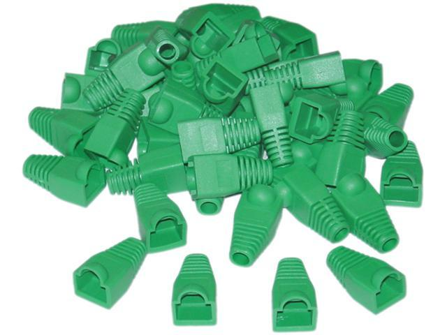 Offex Wholesale RJ45 Strain Relief Boots - Green  (50 Pcs Per Bag)