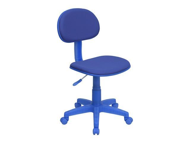 Flash Furniture Blue Fabric Ergonomic Task Chair [BT-698-BLUE-GG]
