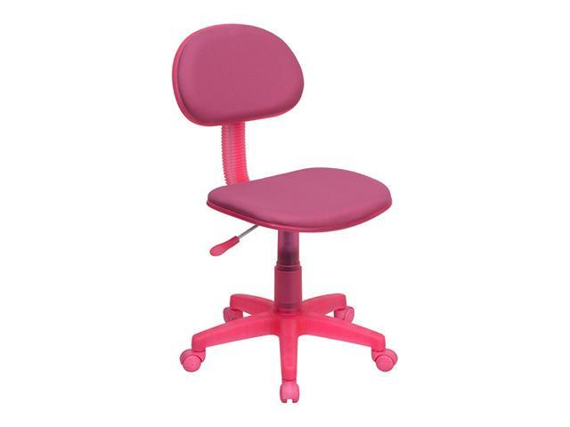 Flash Furniture Pink Fabric Ergonomic Task Chair [BT-698-PINK-GG]