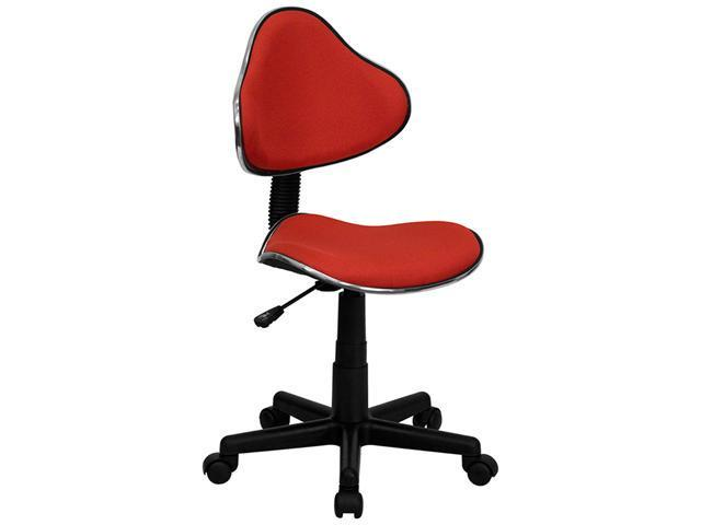 Flash Furniture Red Fabric Ergonomic Task Chair [BT-699-RED-GG]
