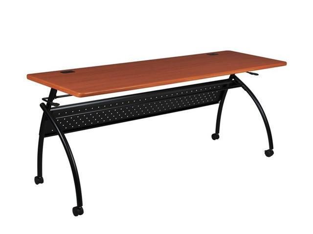Balt Chi Flipper Table 72 X 24 Light Cherry