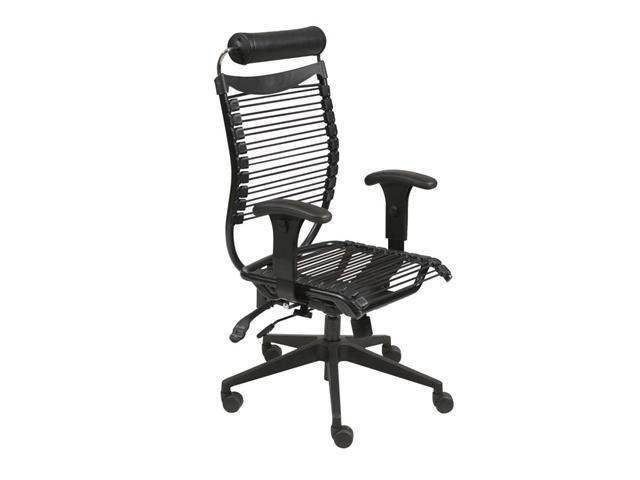 Balt Seatflex Managerial Chair With Arms - Black