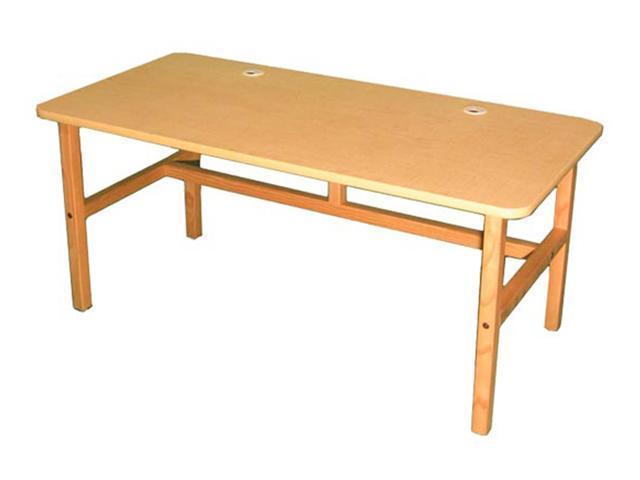 Wild Zoo Side By Side Desk - maple / black