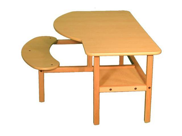 Wild Zoo Pre-School Buddy Computer Desk - maple / yellow