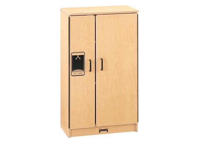 Jonti-Craft Pretend Play Room Kids Kitchen Wooden Toy Refrigerator Maplewave