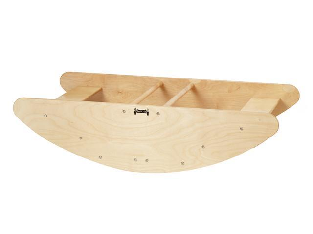 Jonti-Craft Kids Home Indoor Preschool Pretend Play Wooden Step Rocking Boat Stairs Furniture