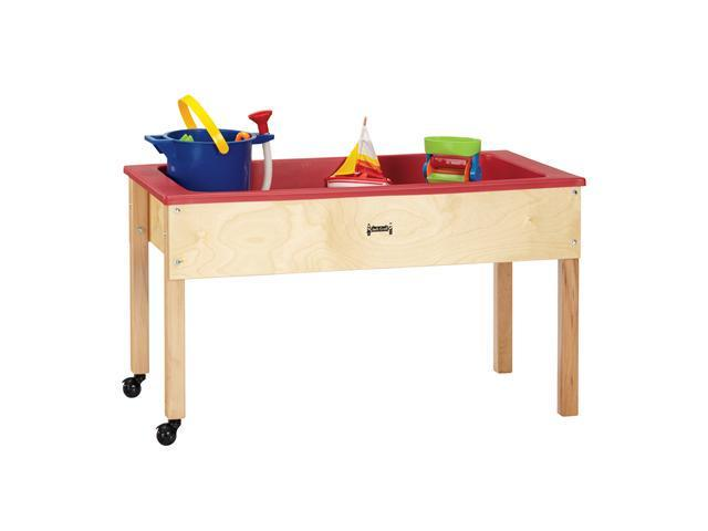 Jonti-Craft Preschool Kids Activity Portable Toy Sand and Water Play Wooden Sensory Table
