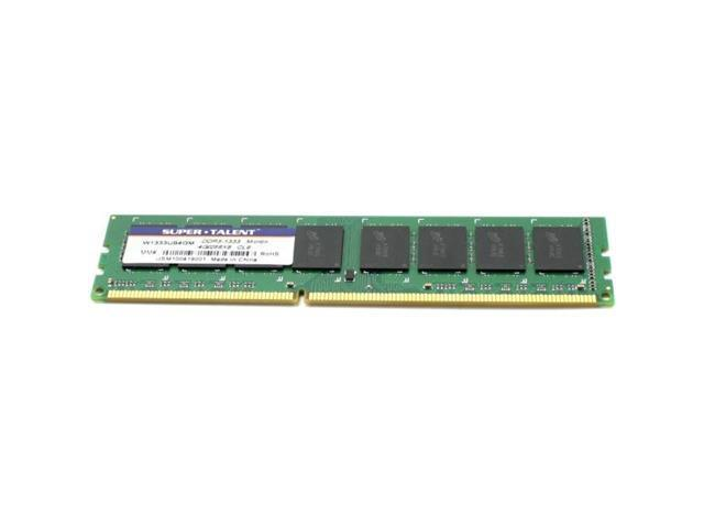 Super Talent DDR3-1333 4GB/256x8 Micron Chip Memory