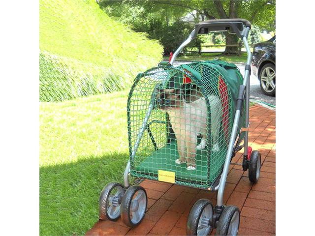 Kitty Walk Emerald Pet Stroller SUV 31