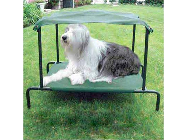 Kitty Walk Breezy Bed for Dog - Green - Medium