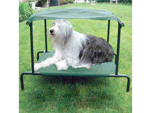 Kitty Walk Breezy Bed For Dog - Green - Large