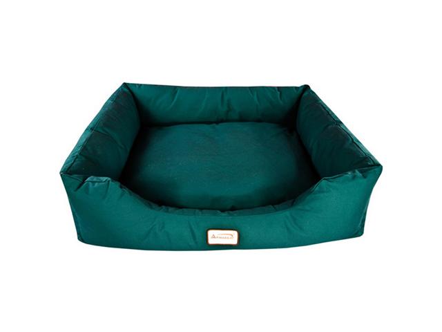 Armarkat Canvas With Waterproof Dog Sleeper Bed Medium Laurel Green