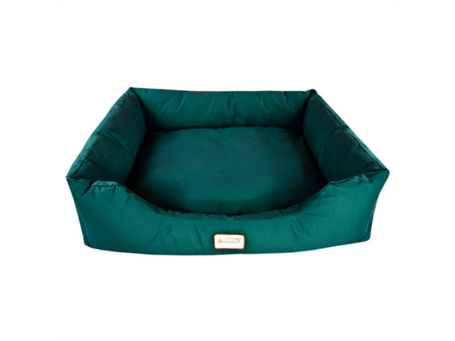 Armarkat Canvas With Waterproof Dog Sleeper Bed Large Laurel Green