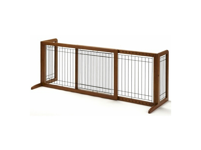 Richell Freestanding Pet Gate HL Autumn Matte 39.4