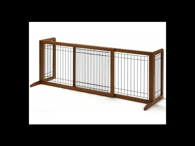 Richell Freestanding Pet Gate HL Autumn Matte 39.4