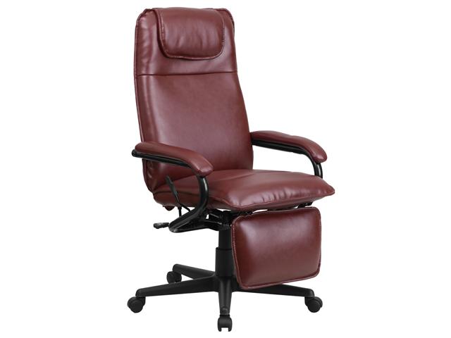 Flash Furniture High Back Burgundy Leather Executive Reclining Office Chair [BT-70172-BG-GG]