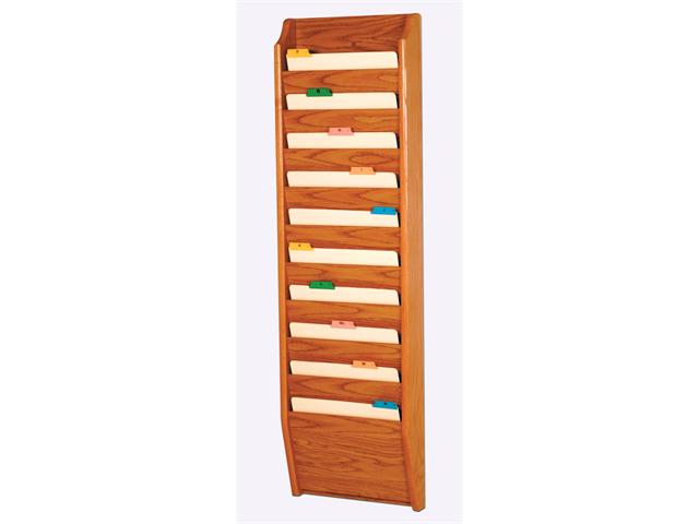 Wooden mallet home office 10 pocket letter size file for Furniture 6 letters
