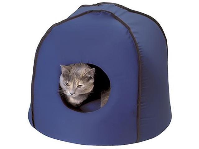 Snoozer Safe And Secure Kitty Kondo For Small Dogs And Cats, Color - Denim