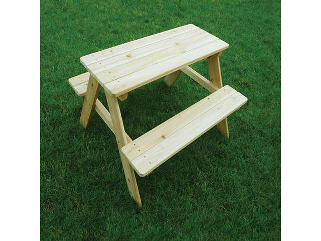 Interchangeable Outdoor Picnic Kids Table With Attach Garden Bench