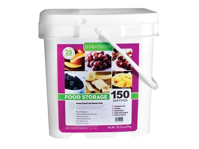 Lindon Farms 150 Tropical Freeze Dried Fruits Serving Storage Pack