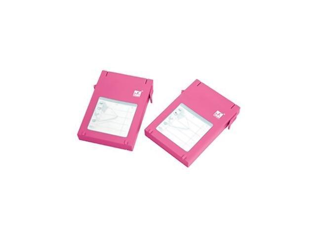 MUKii Mukii 2.5in HDD Protector, 2-pack, Pink
