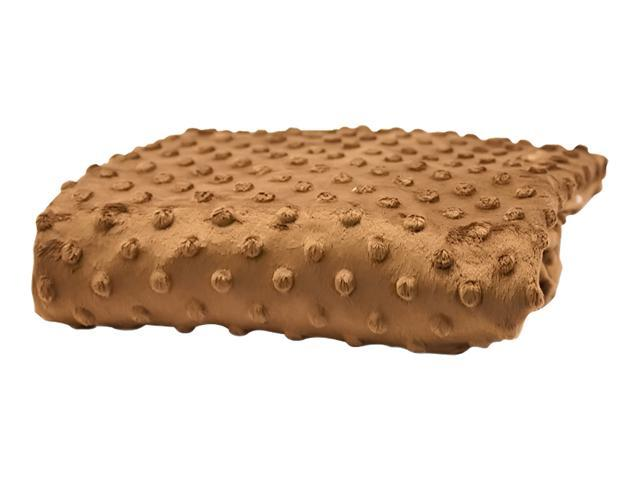 Rumble Tuff Home Travel Newborn Nursery Baby Infant Minky Dot Contour Changing Pad Cover Standard Chocolate