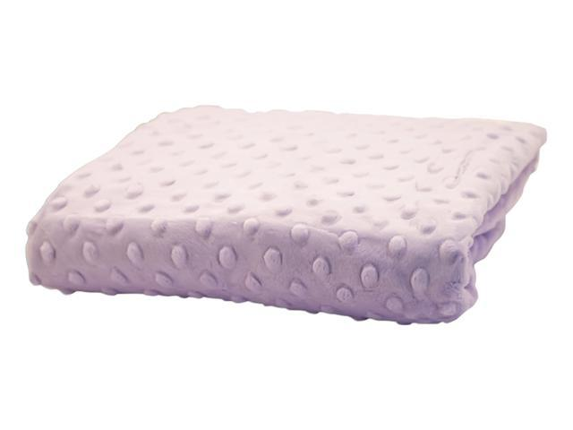 Rumble Tuff Home Travel Newborn Nursery Baby Infant Minky Dot Contour Changing Pad Cover Standard Lavender