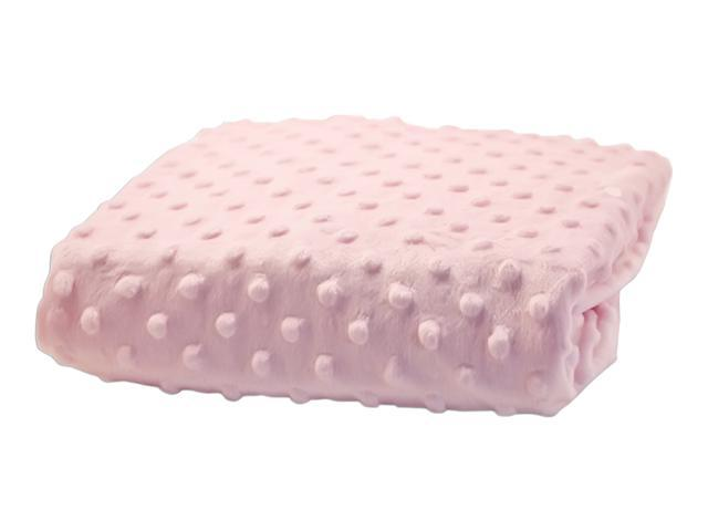 Rumble Tuff Home Travel Newborn Nursery Baby Infant Minky Dot Contour Changing Pad Cover Standard Powder Pink