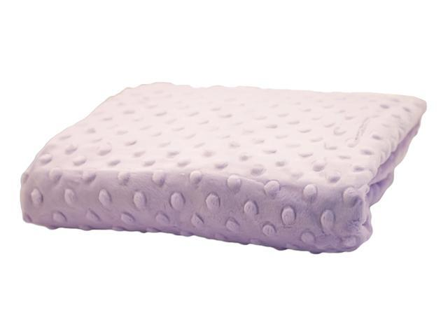 Rumble Tuff Home Travel Newborn Nursery Baby Infant Minky Dot Contour Changing Pad Cover Compact Lavender