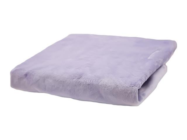 Rumble Tuff Home Travel Newborn Nursery Baby Infant Minky Contour Changing Pad Cover Compact Lavender