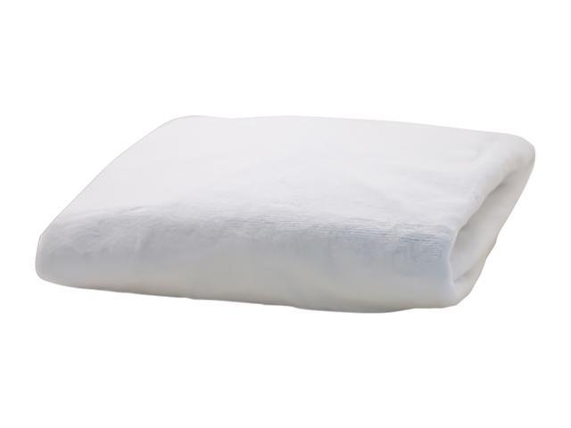 Rumble Tuff Home Travel Newborn Nursery Baby Infant Minky Contour Changing Pad Cover Compact White