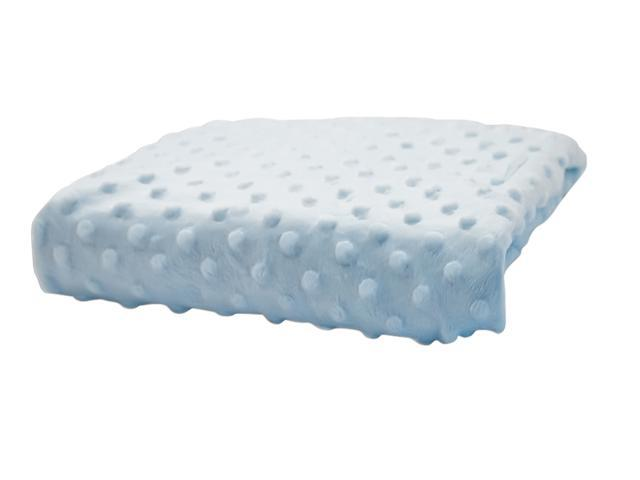 Rumble Tuff Home Travel Newborn Nursery Baby Infant Minky Dot Contour Changing Pad Cover Standard Baby Blue