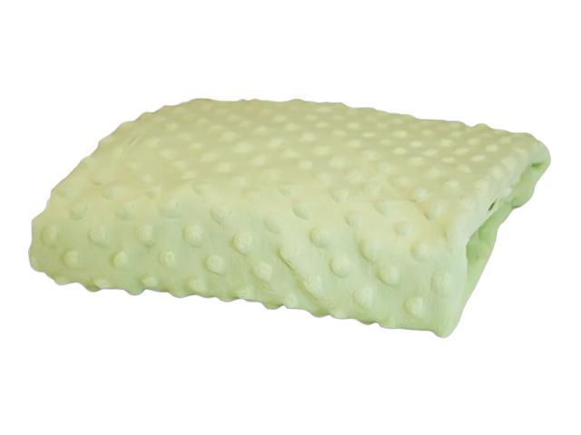 Rumble Tuff Home Travel Newborn Nursery Baby Infant Minky Dot Contour Changing Pad Cover Standard Mint Green