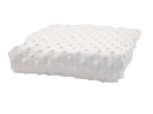 Rumble Tuff Home Travel Newborn Nursery Baby Infant Minky Dot Contour Changing Pad Cover Standard White