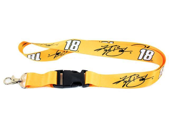 Kyle Busch Nascar Lanyard Keyring Id Photo Keychain With Clasp Clip