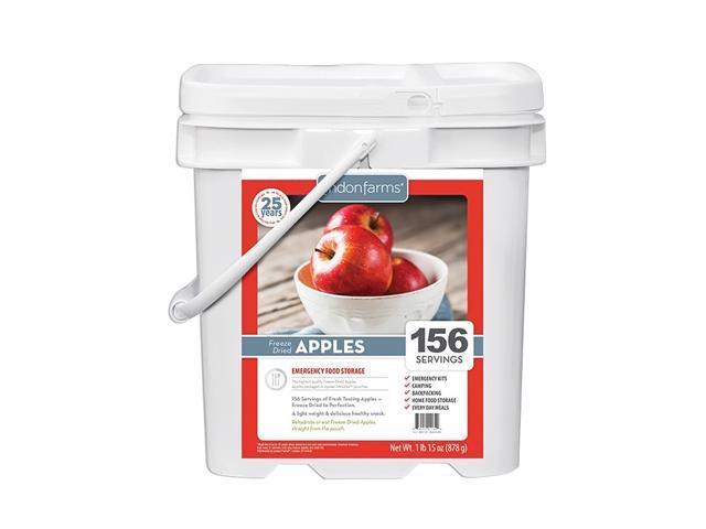 156 Servings Fruit Instant Snacks Pouch Crisp Freeze Dried Apples