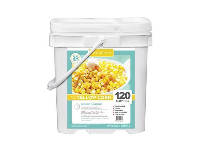 Freeze Dried Corn Instant Vegetable Crisp Snack Pouch 120 Servings