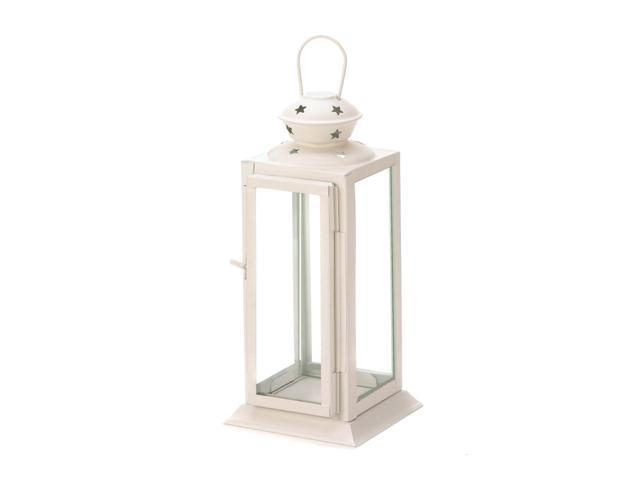 Koehler Outdoor Garden Patio White Starlight Candle Lantern