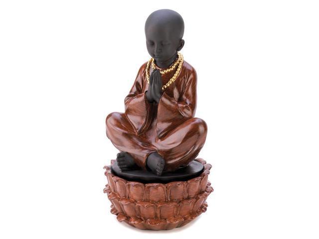 Sitting Monk Home Indoor Christmas Decorative Jewelry Hidden Treasure Gift Box Set