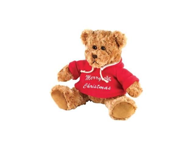 KHD Home Holiday Decorative Christmas Doll Noel The Christmas Teddy Bear Toy