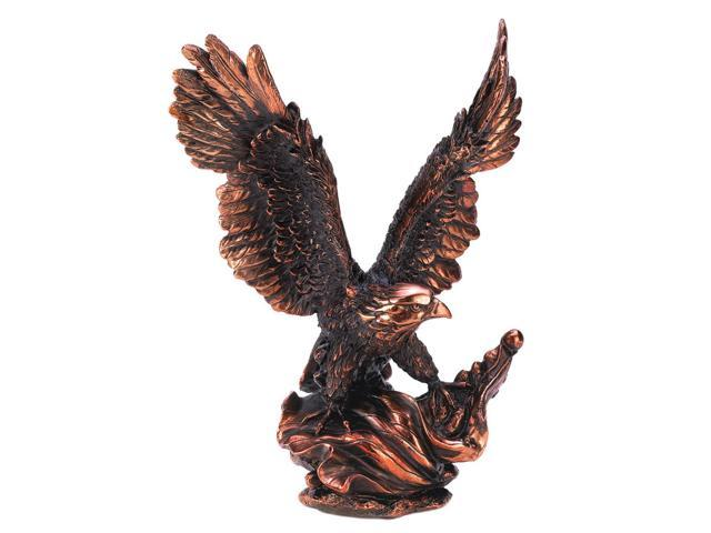 Koehler Home Indoor Resin Christmas Holiday Seasonal Eagle in Flight Statue Decor