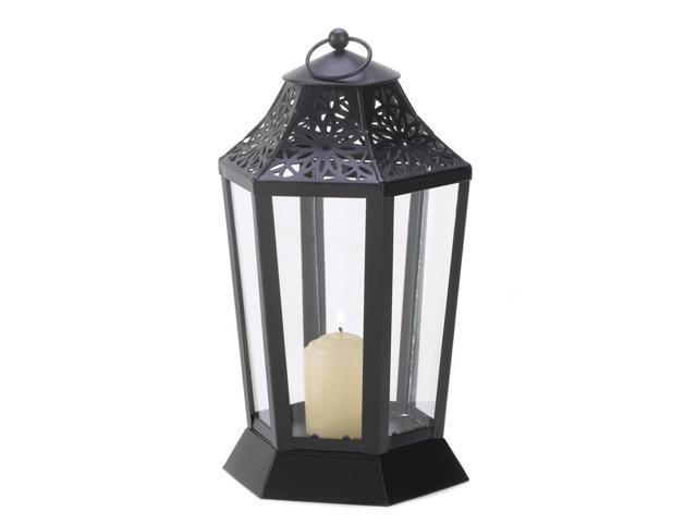 Koehler Home Decor Decorative Wedding Seasonal Table Display Midnight Garden Lantern Candle Holder Stand