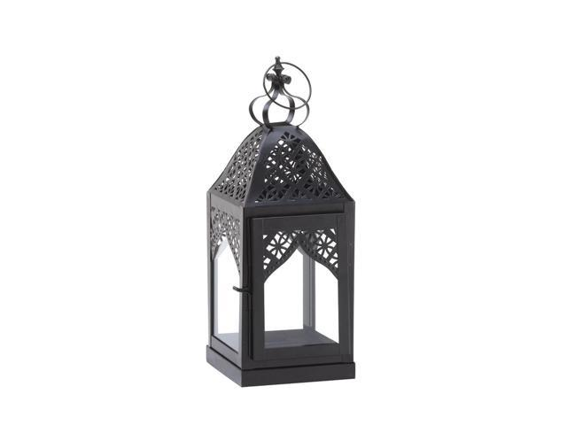 Home Indoor Outdoor Decorative Holiday Gift Décor Hanging And TableTop Candle Accessory Metal Steeple Candle Lantern